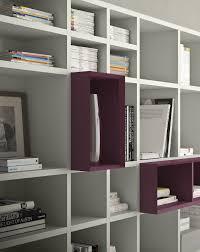 modular bookcase wall mounted corner contemporary