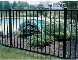 ornamental aluminum fence panels designs and supply installation