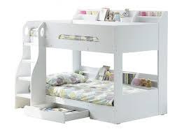 White Wooden Bunk Bed Wooden Bunk Bed White