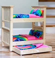 Wood To Make Bunk Beds by Best 25 Bunk Bed With Trundle Ideas On Pinterest Built In Bunks