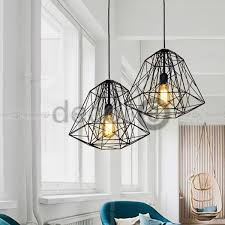 Wire Pendant Light Decor8 Light Robert Industrial Wire Pendant L