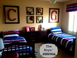 Decorated Rooms Bedroom Charming Old Sports Rooms Med Room Boys Bedroom Kids