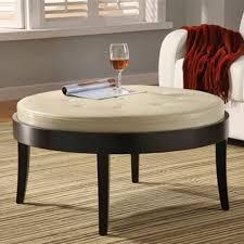 living room round ottoman coffee table ideas