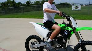 85cc motocross bikes for sale uk 4 599 the new 2014 kawasaki kx100 with 20 more power youtube