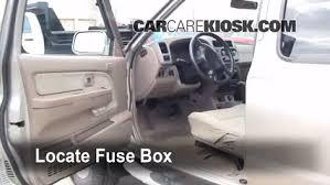 1999 Nissan Frontier Interior Interior Fuse Box Location 1998 2004 Nissan Frontier 2001