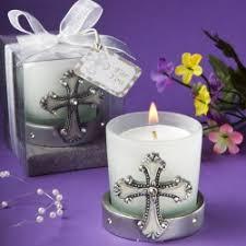 baptism candle favors christening baptism candle favors