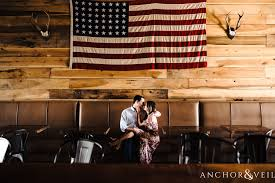Charlotte Flag Sycamore Brewing Engagement Session Charlotte Photographers