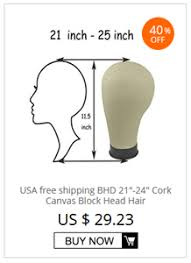 Blok Diagram Hair Dryer bhd poly canvas block wig weft wig display style