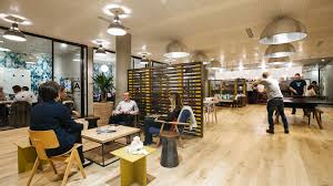 coworking giants wework and industrious unveil floor plans