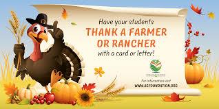 help us thank a farmer or rancher