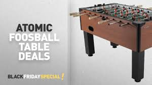 atomic 2 in 1 flip table 7 feet black friday atomic table deals atomic gladiator foosball table