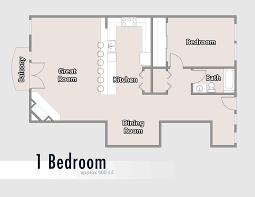 1 bedroom floor plan accommodations bear creek lodge of telluride