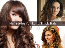 Hairstyles For Girls With Long Straight Hair by Cute And Easy Hairstyles For Long Thick Hair Hairstyle For Women