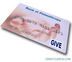 is a charity card worth