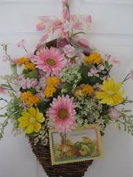 Easter Decorations Auckland by Easter Basket Flower Arrangements Chocolate Pleasure Flower