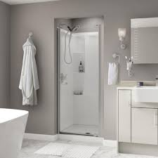 swan 36 in neo angle shower door with clear glass sd00036cg the