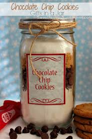 chocolate chip cookies gifts in a jar recipe frugal gift ideas