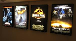 movie poster light box display frame cinema lightbox light up home