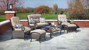 Lazy Boy Wicker Patio Furniture - amazon com la z boy outdoor lake como 6 piece deep seating resin