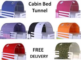 Bunk Bed Tent Only Cabin Bed Mid Sleeper Bunk Loft Tunnel Tent Only Tunnel Tent