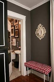 brown and gray foyers design ideas