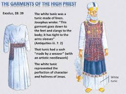 high priest garments ppt the priestly garments of grace powerpoint presentation id