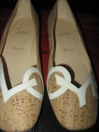 wedding shoes cork christian louboutin cork flats for a s wedding shoes