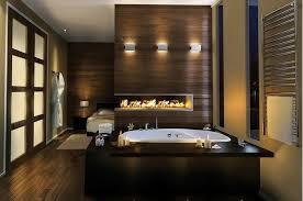 salle de bain ouverte sur chambre briques de verre pour la salle de bains projets de bains