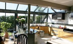 cuisine sous veranda cuisine sous veranda 100 images grande cuisine salle à manger
