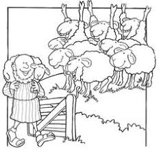 jesus the good shepherd coloring pages the good shepherd the lost sheep coloring page coloring pages