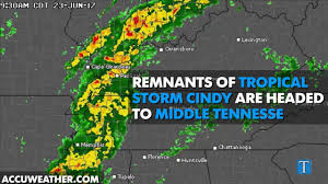 Tennessee Weather Map by Tornado Watches Canceled As Tropical Depression Cindy Clears From
