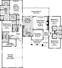 House Plans 2500 Square Feet Bungalow Style House Plans 2400 Square Foot Home 1 Story 4