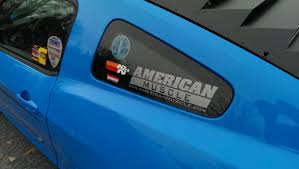 mustang windshield decal graphics mustang americanmuscle quarter window