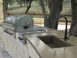 Concrete Kitchen Sink by Concrete Countertops U0026 Sinks Kitchens Riverbed Concrete