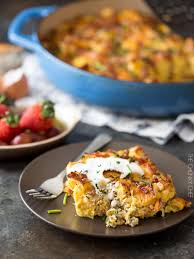 But First Breakfast 18 Recipes That Will Make Your Mornings by Easy Overnight Breakfast Strata The Chunky Chef