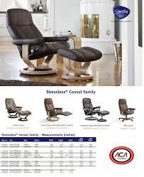 Stressless Recliner Chairs Reviews Stressless Consul Recliner U0026 Ottoman Signature Ambiente Modern