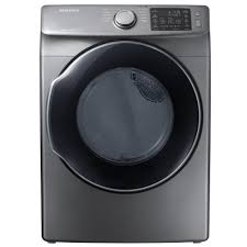 Clothes Dryer Good Guys Samsung 7 5 Cu Ft Electric Dryer With Steam In Azure Energy