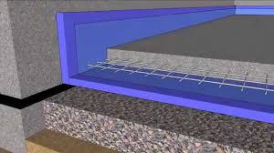 basement floating slab in 4d youtube
