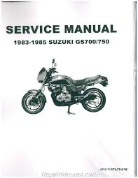 1983 1985 suzuki gs700 gs750 motorcycle service manual