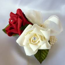 wedding wrist corsages artificial wedding flowers posie