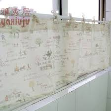 Material For Kitchen Curtains by Compare Prices On Lace Curtains For Kitchen Online Shopping Buy