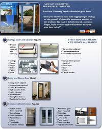 commercial aluminum glass doors door repairs by ace door company residential and commercial