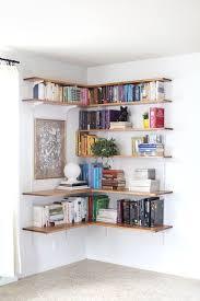 wall bookshelf ideas remarkable wall bookshelves ideas 17 best ideas about corner wall