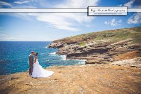 hawaii wedding photography heaven s point hawaii wedding photography by right frame
