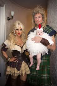 jessica simpson shows off slim figure in wench halloween