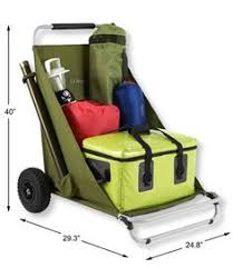 Rolling Beach Chair Cart Lounger Chair And Beach Cart In One I Need This Camping