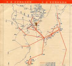 Japan Airlines Route Map by Dai Nippon Koku Japan Airways Co Greater Japan Airlines