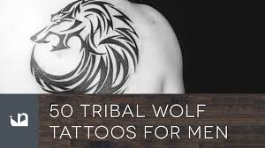 50 tribal wolf tattoos for