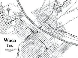map waco 1up travel historical maps of cities waco 1920 automobile
