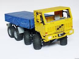 volvo truck fl volvo fl12 8x8 trial truck lego technic mindstorms u0026 model team